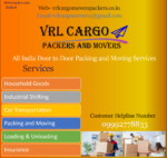 VRL Cargo Packers and Movers